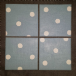 Ceramic Wall Tiles Made With Cath Kidston Spot in Blue